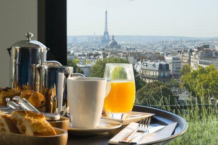 Bureau partagé / coworkging avec vue sur tout Paris - Terrass'' Hôtel