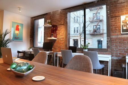 Coworking Daypass Williamsburg Brooklyn - New York - G line Metropolitan Av - 11211 - Rough Draft NYC