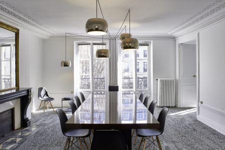 Salle de réunion Paris 9ème arr. - Cité de Trévise - métro Cadet - Gare du Nord - 10 personnes max - Le Coworking 23