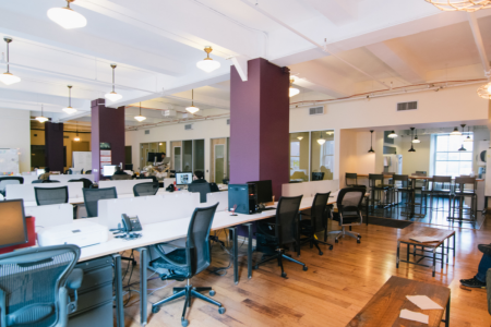 Coworking Space Flatiron 10010 New York - Kips Bay - Line 6 : 23rd Street Station - Coalition Space: Flatiron - Old